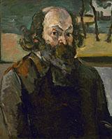 Portrait of the Artist 1873 - Paul Cezanne reproduction oil painting