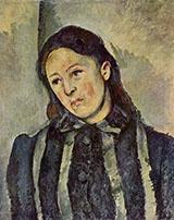 Portrait of Madame Cezanne 1883 - Paul Cezanne