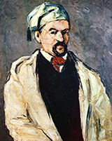Man in a Cotton Hat Uncle Dominic 1865 - Paul Cezanne reproduction oil painting