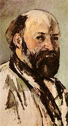 Self Portrait 1880 - Paul Cezanne reproduction oil painting