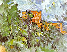 The Chateau Noir - Paul Cezanne reproduction oil painting