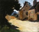 Village Street, Louveciennes c1871 - Pierre Auguste Renoir