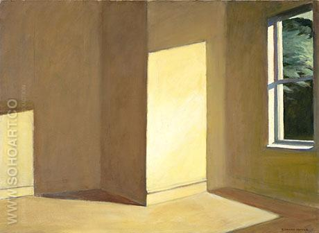 Sun in an Empty Room 1963 - Edward Hopper reproduction oil painting