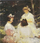 Children in the Woods 1905 - Frank Weston Benson reproduction oil painting