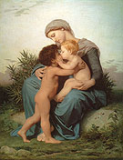 Fraternal Love 1851 - William-Adolphe Bouguereau