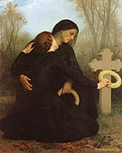 Le jour des morts All Saints Day 1859 - William-Adolphe Bouguereau