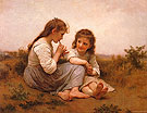 Childnood Idyll 1900 - William-Adolphe Bouguereau reproduction oil painting