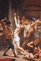 The Flagellation of Christ  1880 - William-Adolphe Bouguereau reproduction oil painting