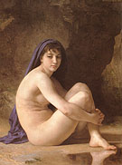 Seated Nude 1884 - William-Adolphe Bouguereau