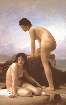 The Bathers 1884 - William-Adolphe Bouguereau