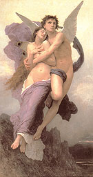 Le ravissement de Psyche The Abduction of Psyche - William-Adolphe Bouguereau