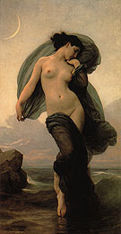 Evening Mood 1882 - William-Adolphe Bouguereau