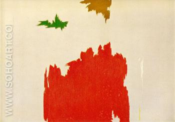 April 1962 - Clyfford Still reproduction oil painting