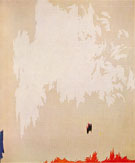 November 1954 - Clyfford Still reproduction oil painting