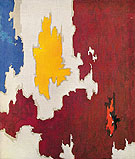 October 1950 - Clyfford Still reproduction oil painting