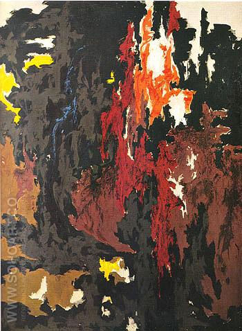 1949 M - Clyfford Still reproduction oil painting