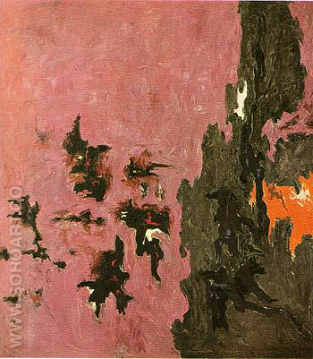 1948 B - Clyfford Still reproduction oil painting