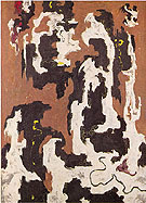 JANUARY 1947 - Clyfford Still reproduction oil painting
