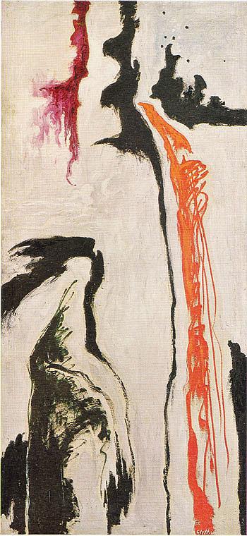 September 1946 - Clyfford Still reproduction oil painting