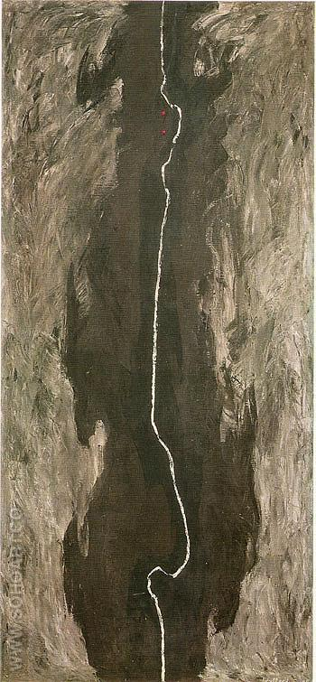 July 1945 R - Clyfford Still reproduction oil painting