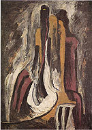 1937 8 A - Clyfford Still reproduction oil painting