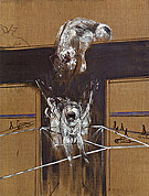 Fragment of a Crucifixion 1950 - Francis Bacon