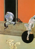 Figures in Movement 1973 - Francis Bacon