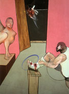 Oedipus and the Sphinx after Ingres 1983 - Francis Bacon