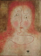In the Magic Mirror 1934 - Paul Klee reproduction oil painting