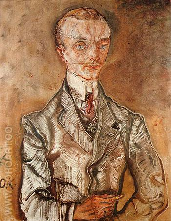 Joseph de Montesquiou fezensac 1910 - Oskar Kokoshka reproduction oil painting