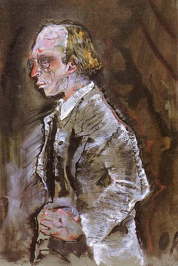Herwarth Walden 1910 - Oskar Kokoshka reproduction oil painting