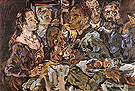 The Friends 1914 - Oskar Kokoshka reproduction oil painting