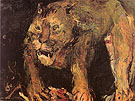 Tigon 1926 - Oskar Kokoshka reproduction oil painting