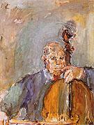 Pablo Casals 1954 - Oskar Kokoshka reproduction oil painting