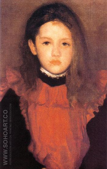 The Little Rose of Lyme Regis 1895 - James McNeill Whistler reproduction oil painting