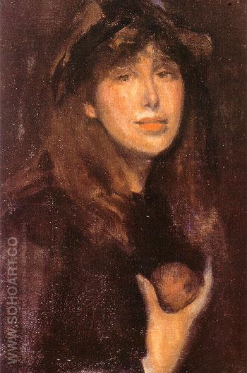 Dorothy Seton a Daughter of Eve 1903 - James McNeill Whistler reproduction oil painting