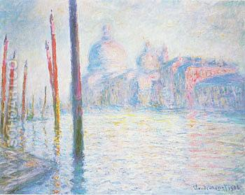 The Grand Canal 1908 - Claude Monet reproduction oil painting