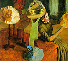 The Millinery Shop 1882 - Edgar Degas reproduction oil painting