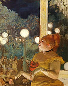 The Song of the Dog 1876 - Edgar Degas reproduction oil painting
