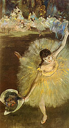 L Etoile - Edgar Degas reproduction oil painting