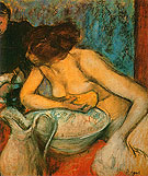 The Toilette 1897 - Edgar Degas reproduction oil painting