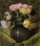 Flowers Roses 1883 - William Merrit Chase reproduction oil painting