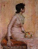 Surprise 1883 - William Merrit Chase reproduction oil painting