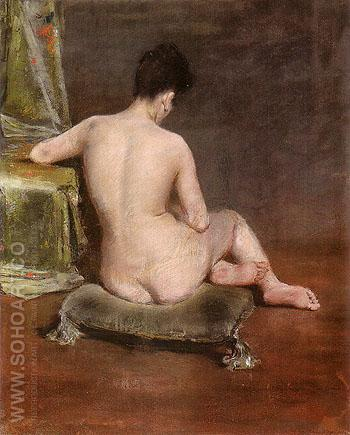 Pure The Model 1888 - William Merrit Chase reproduction oil painting