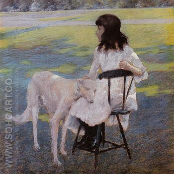 Good Friends 1888 - William Merrit Chase reproduction oil painting