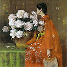 Spring Flowers Peonies 1889 - William Merrit Chase