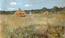 Grain Field Shinnecock Hills 1891 - William Merrit Chase