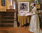 In The Studio 1892 - William Merrit Chase reproduction oil painting