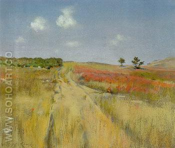 Untitled  Shinnecock Hills 1895 - William Merrit Chase reproduction oil painting