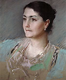 Untitled Portrait of Mrs William Chase 1900 - William Merrit Chase